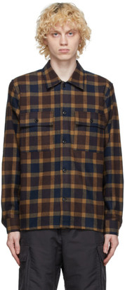 Wood Wood Navy Franco Shirt