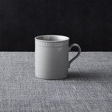 Crate & Barrel Staccato Grey Cup