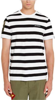 Avirex Men Stripe T-Shirt