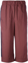 Odeeh flared cropped trousers