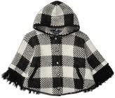 Ralph Lauren Girls' Hooded Knit Cape - Little Kid