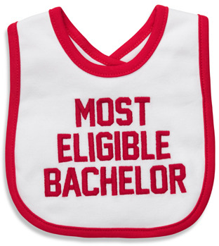 Carter's Most Eligible Bachelor Bib
