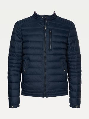 Tommy Hilfiger Big & Tall Quilted Racer Jacket