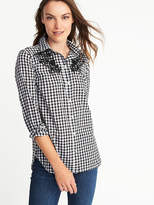 Old Navy Classic Gingham Shirt for Women
