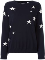 Chinti and Parker slouchy star intarsia sweater