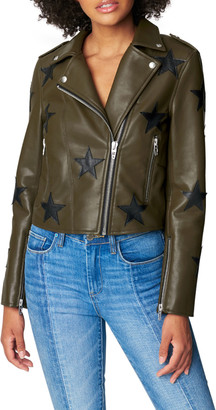 Blank NYC Star of the Show Vegan Leather Moto Jacket