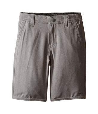 O'Neill Kids Kids Loaded Heather Hybrid Shorts (Little Kids) (Heather Grey) Boy's Shorts