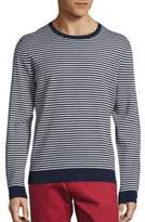 Saks Fifth Avenue COLLECTION Striped Crewneck Sweater
