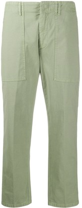 Dondup High-Waisted Cropped Trousers