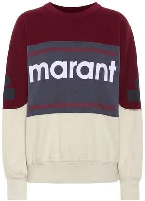 Etoile Isabel Marant Isabel Marant, étoile Gallian logo cotton-blend sweatshirt