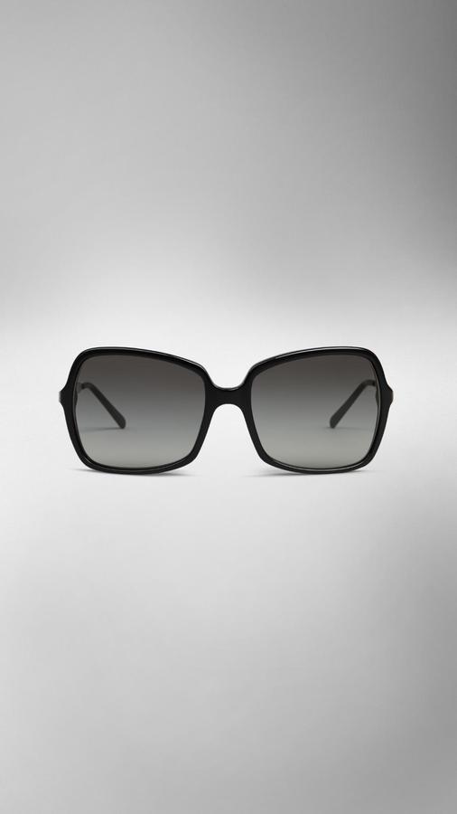 Burberry Square Frame Acetate Sunglasses