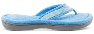 Isotoner Signature Isotoner Women's Microterry Jeana Thong Slippers