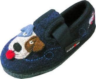 Haflinger Women's Camo Hi-Top Slippers
