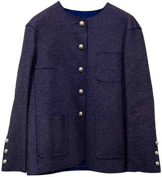 Chanel Purple Polyester Jackets