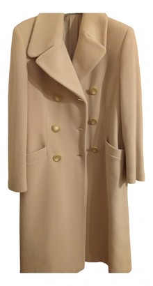 C.b. Made In Italy Camel Wool Coats