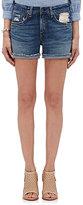 Rag & Bone Women's Denim Boyfriend Shorts-BLUE
