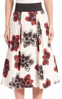Milly Full Floral Skirt