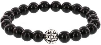 Ecclissi Gemstone Beaded Stretch Bracelet