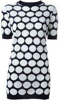 Marni 'Dot Intarsia' macramé back top - women - Cotton/Viscose/Cashmere - 42