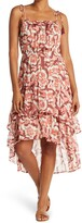 Thumbnail for your product : Love Stitch Sleeveless Ruffled High/Low Dress