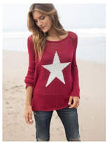 Wooden Ships Red Star Sweater