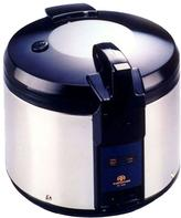 SPT 26-Cup Rice Cooker in Stainless Steel