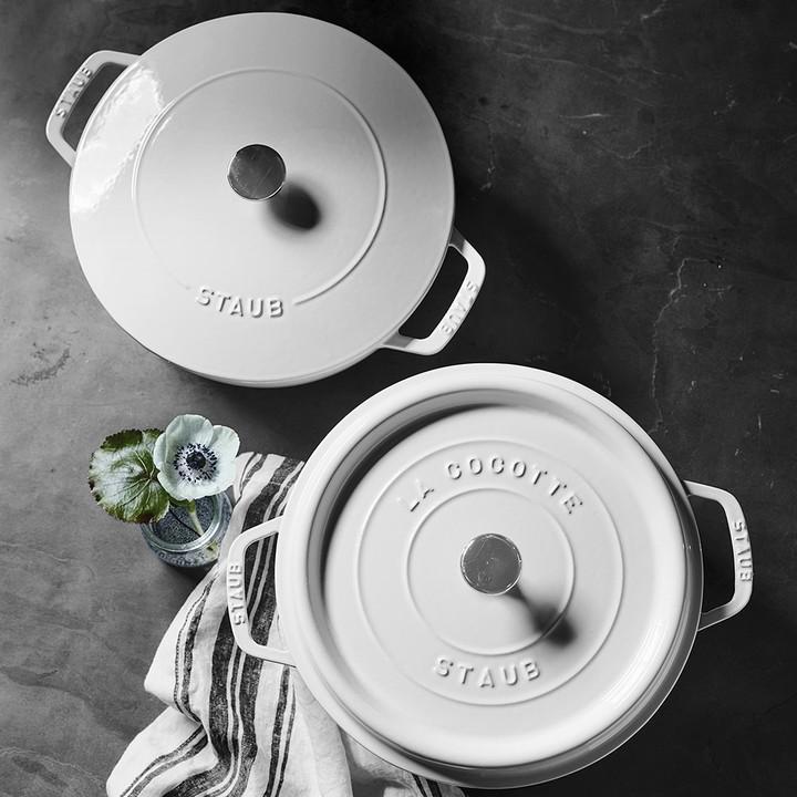 Staub Cast-Iron Round Cocotte