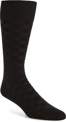 Nordstrom Grid Dress Socks