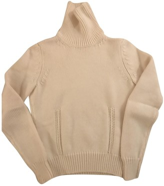 Celine White Wool Knitwear for Women Vintage