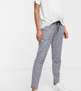 Mama Licious Mama.Licious Mamalicious textured sweatpants with bump band