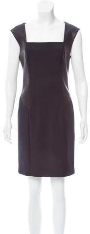 Rag & Bone Leather-Paneled Mini Dress