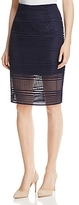 Cupcakes And Cashmere Derry Illusion Hem Skirt