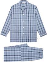 Derek Rose Barker Blue Pyjama Set