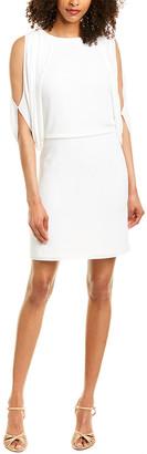 Halston Blouson Dress
