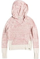 Roxy Junior's Time Will Tell Hooded Pullover Sweater