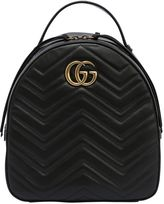 Gucci Gg Marmont 2.0 Quilted Leather Backpack