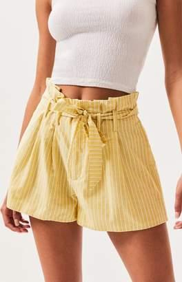 Lottie Moss Paperbag Waist Shorts