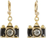 Betsey Johnson Royal Engagement Camera Stud Earrings