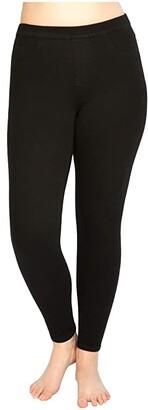 Spanx Jean-ish Ankle Leggings (White) Women's Clothing