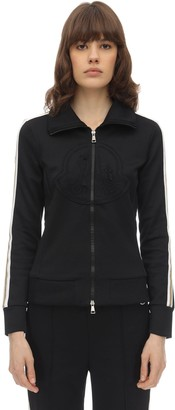 Moncler Zip-up Triacetate Sweatshirt