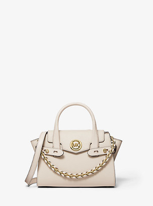 Michael Kors Carmen Extra-Small Saffiano Leather Belted Satchel