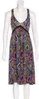 Etro Paisley Print Sleeveless Dress