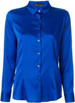 Frankie Morello satin shirt