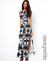 Asos Exclusive Maxi Dress In Print