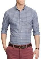 Polo Ralph Lauren Slim-Fit Plaid Cotton Button-Down Shirt