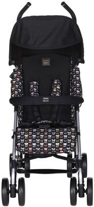 Fendi monster pattern stroller