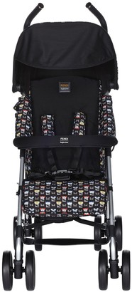 Fendi Kids Monster Pattern Stroller