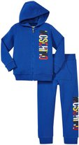 Moschino Sweat Top and Pant Set (Toddler/Kid) - Royal Blue - 2 Years