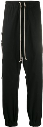 Rick Owens dropped crotch sweat pants