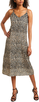 Emory Park Animal Print Midi Dress